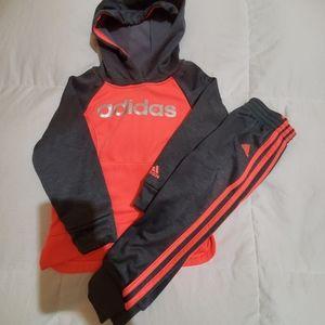 Girls 4T Adidas sweatsuit